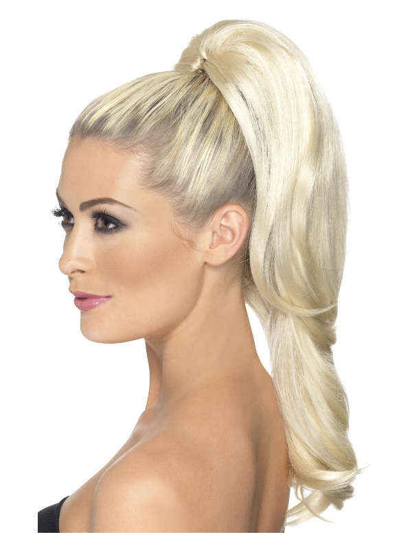 Divinity Hair Extension, Blonde, Wavy, on Clip