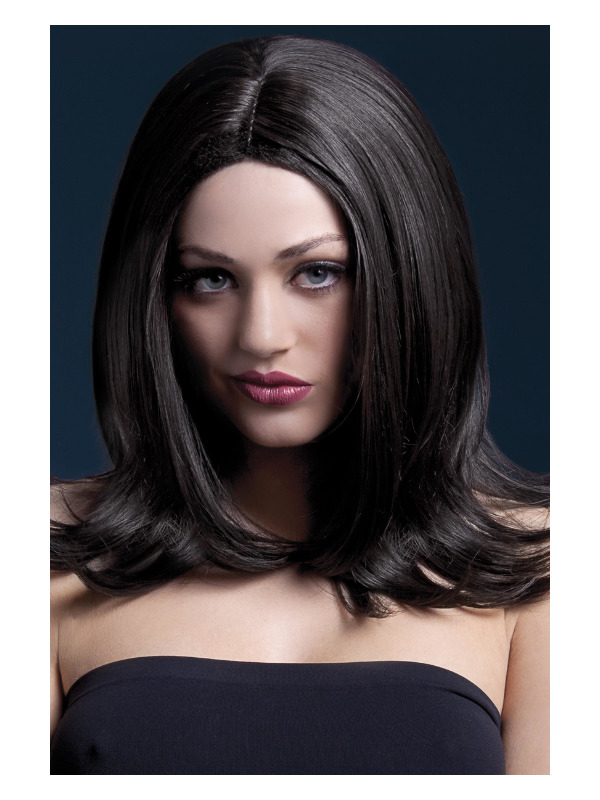 Fever Sophia Wig, Brown, Long Layered with Centre Parting, 17inch/43cm