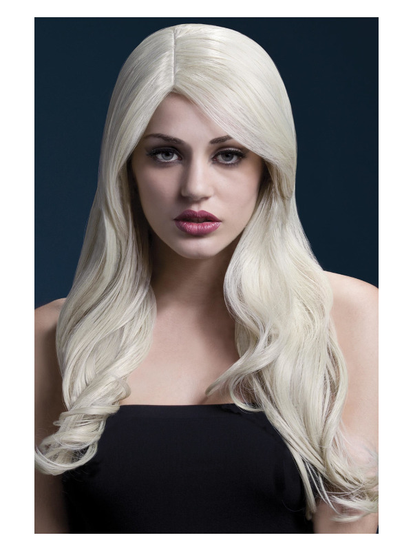 Fever Nicole Wig, Blonde, Soft Wave with Side Parting, 66cm / 26in