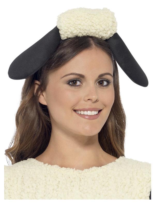 Shaun The Sheep Headband, Black & White