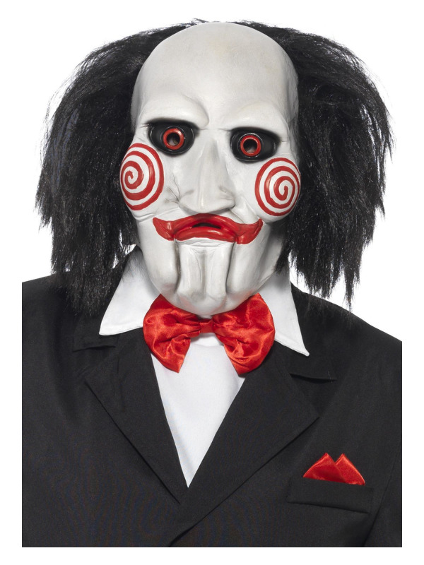 SAW Billy Mask, Black & White, Latex
