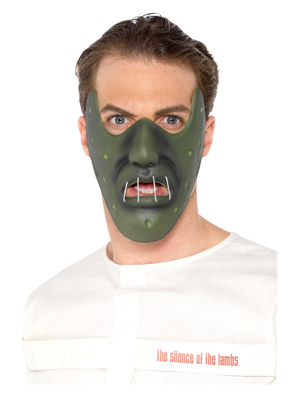 Silence of the Lambs, Green, Horror Restraint Mask