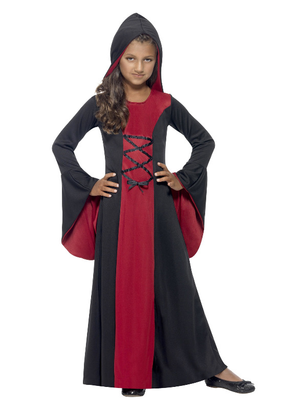 Vamp Costume, Red & Black
