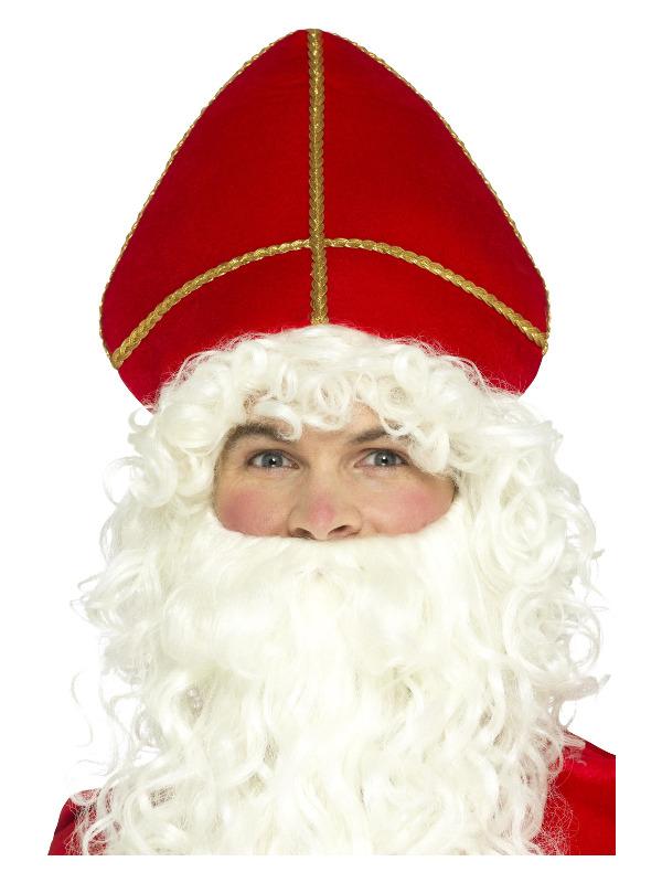 Saint Nicholas Hat, Red