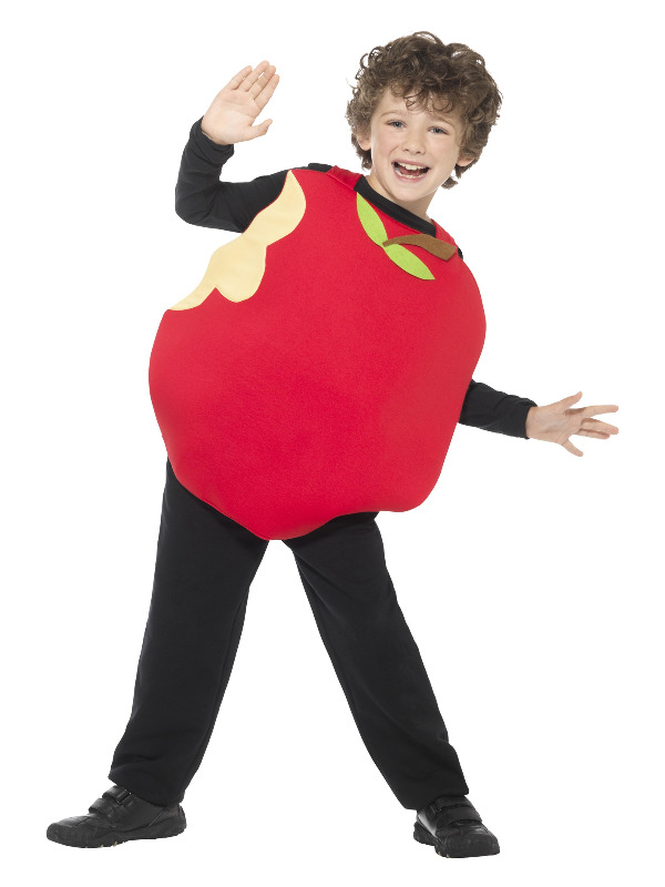 Apple Costume, Red, with Tabard