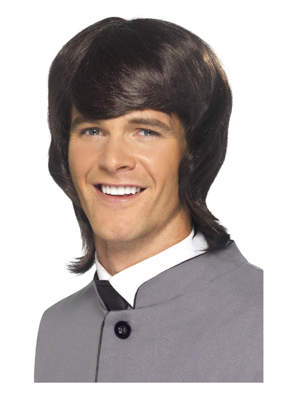 '60s Male Mod Wig, Brown