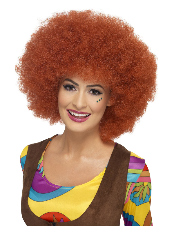 '60s Afro Wig, Auburn