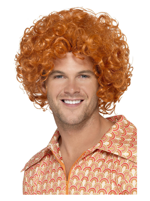 Curly Afro Wig, Ginger