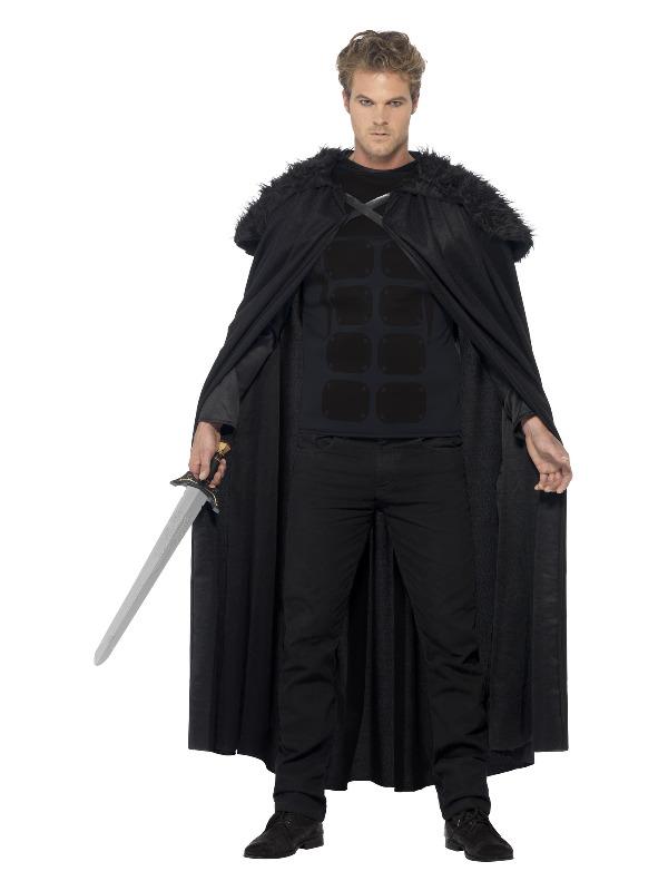 Dark Barbarian Costume, Black