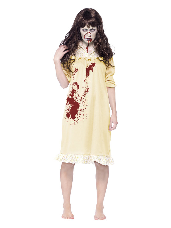 Zombie Sinister Dreams Costume, Yellow