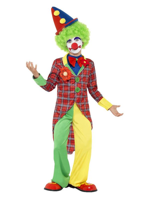 Clown Costume, Red