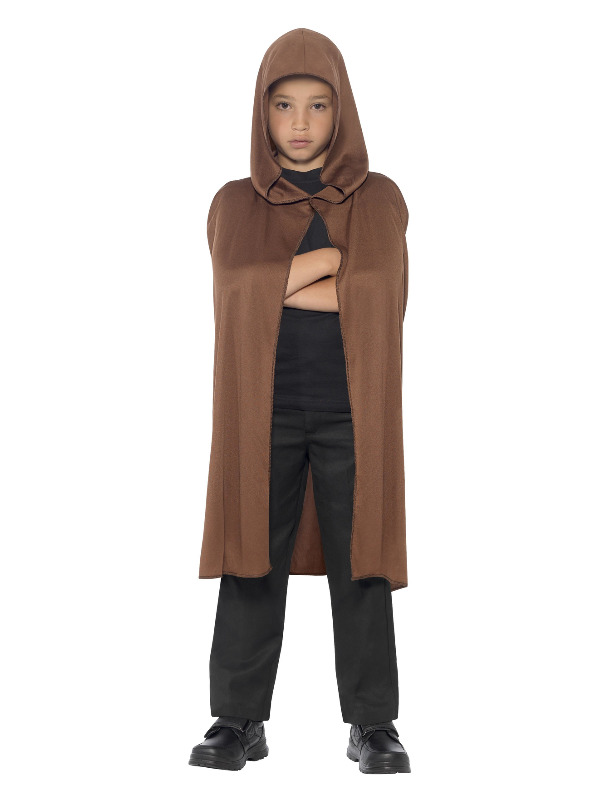 Cape Hooded, Brown, Long