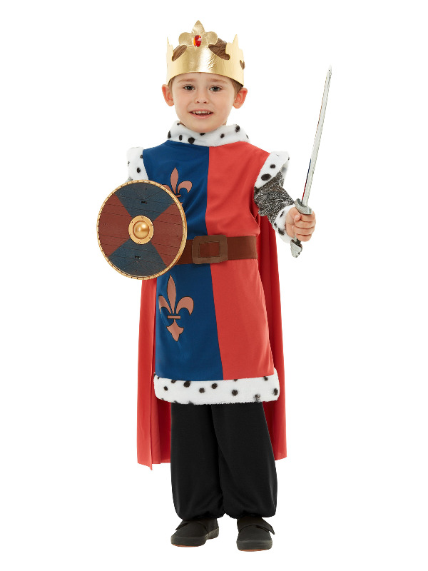 Weapons Set, Blue & Red, with Sword & Shield, 39cm/15in