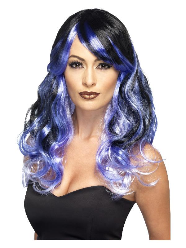 Ombre Wig, Midnight Siren, Purple & Black