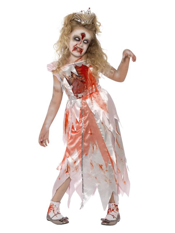 Zombie Sleeping Princess Costume, Pink