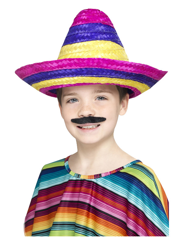 Sombrero Hat, Multi-Coloured