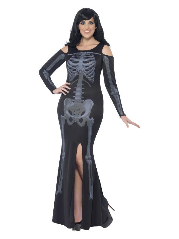 Curves Skeleton Costume, Black