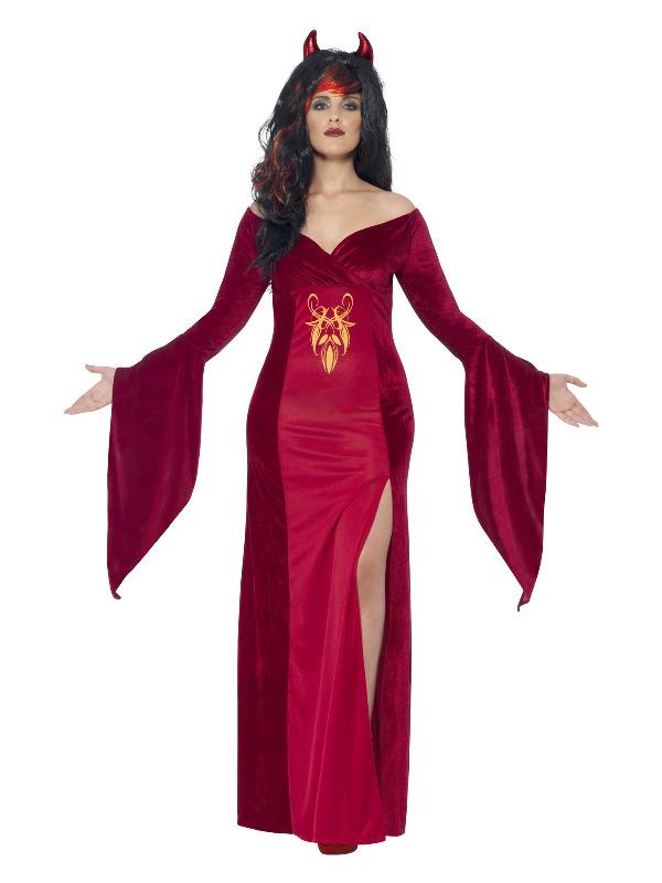 Curves Devil Costume, Red