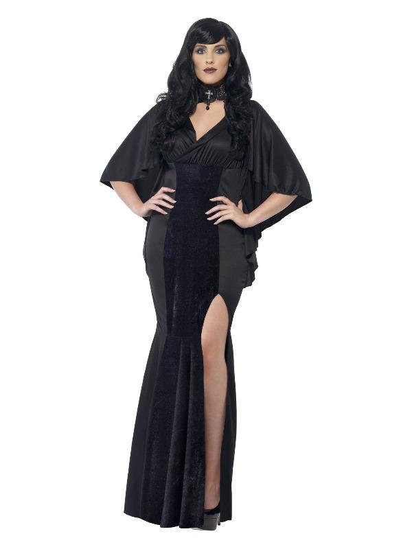 Curves Vamp Costume, Black