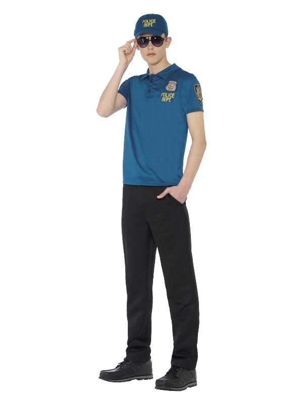 Cool City Cop Instant Kit, Blue