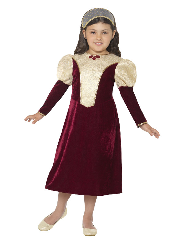 Tudor Damsel, Princess Costume, Purple