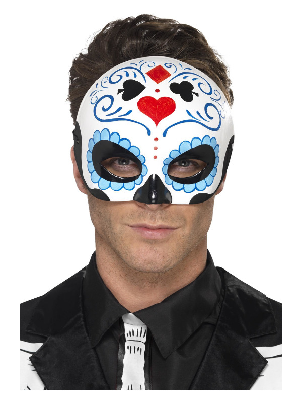 Day of the Dead Eyemask, Blue