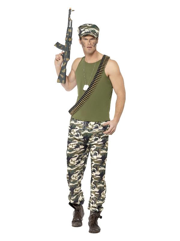 Army Costume, Economy, Green