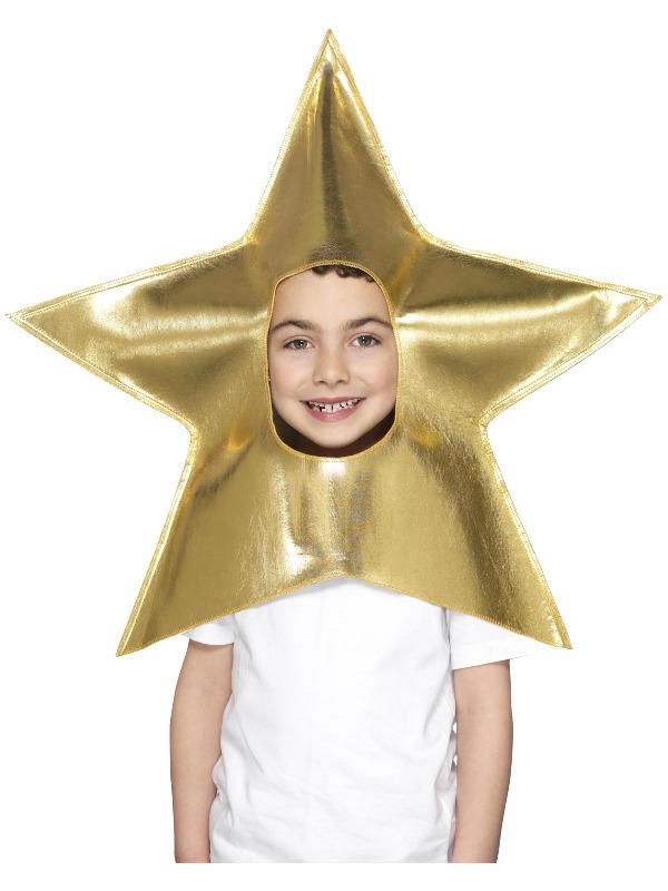 Christmas Star Headpiece, Gold