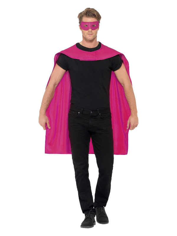 Cape, Pink, with Eyemask
