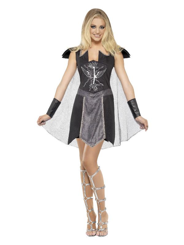 Dark Warrior Costume, Black