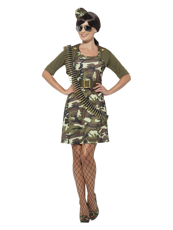 Combat Cadet Costume, Green