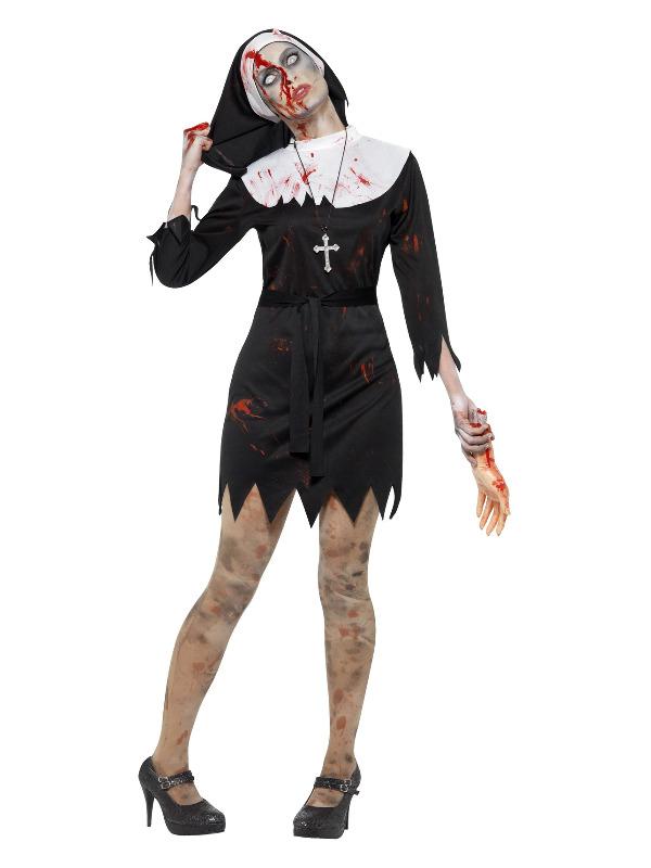 Zombie Sister Costume, Black