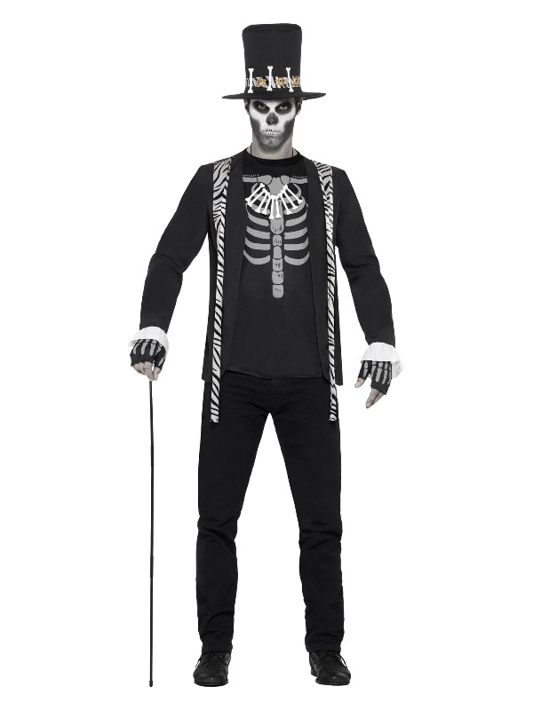 Witch Doctor Costume, Black
