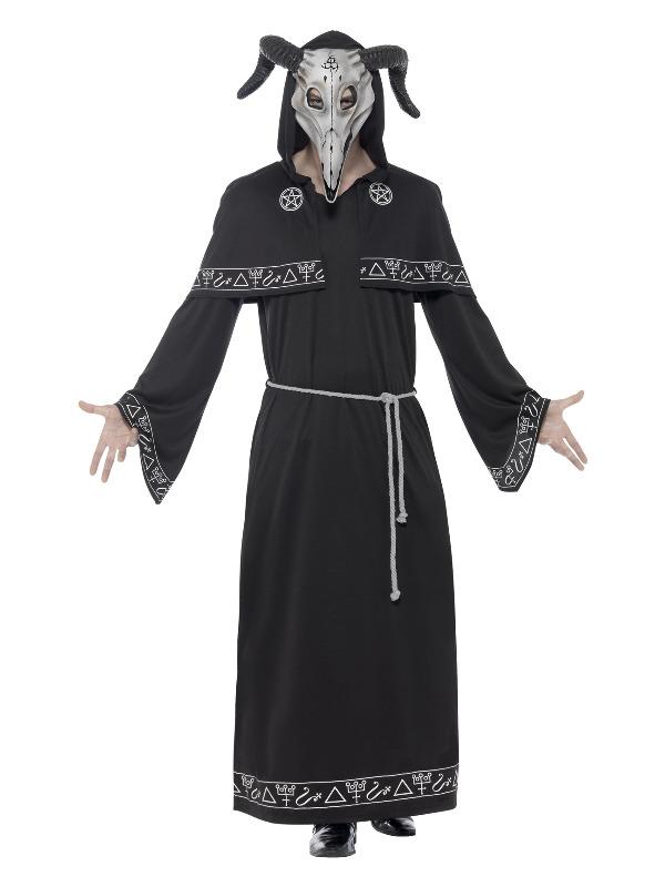 Cult Leader Costume, Black
