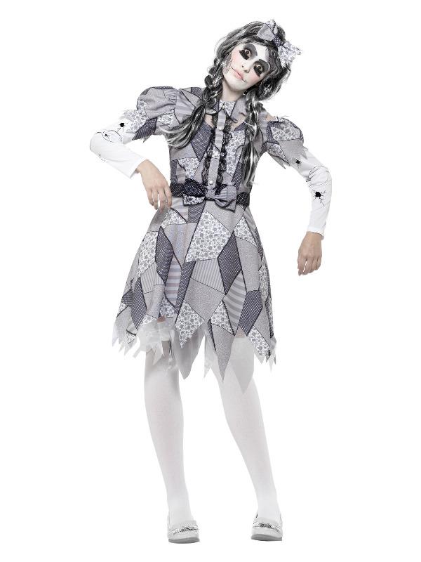 Damaged Doll Costume, Grey