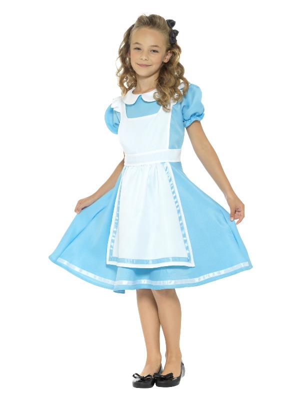 Wonderland Princess Costume, Blue
