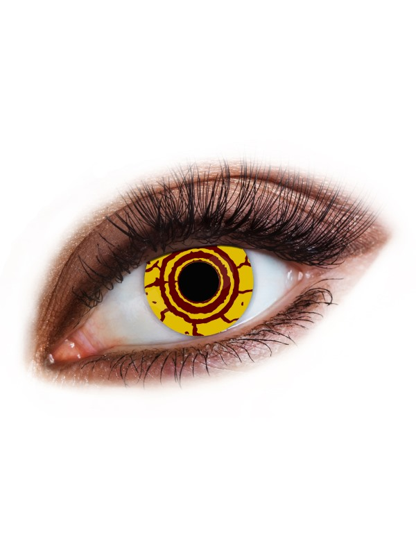 Accessoreyes Virus, Yellow, 1 Day Wear