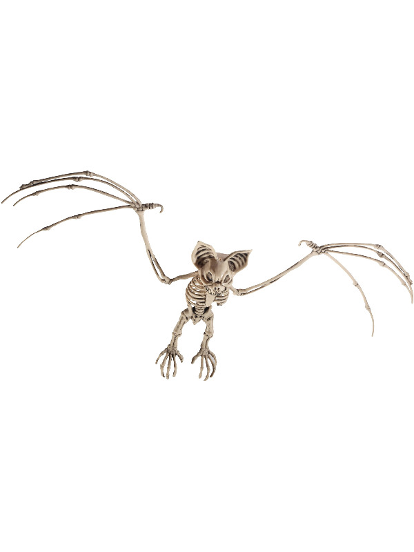 Bat Skeleton Prop, Natural, 7x32x72cm / 3x13x2in