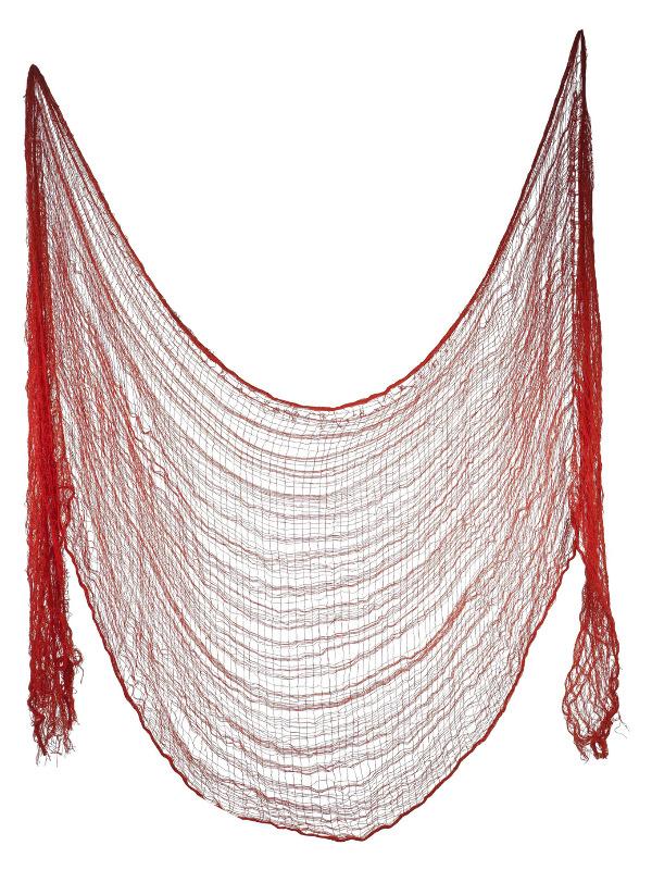 Creepy Cloth, Red, 75x300cm / 30x118in