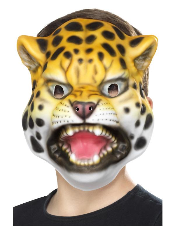Leopard Mask, Yellow & Black, EVA