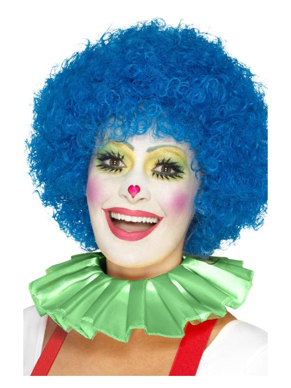 Clown Neck Ruffle, Green