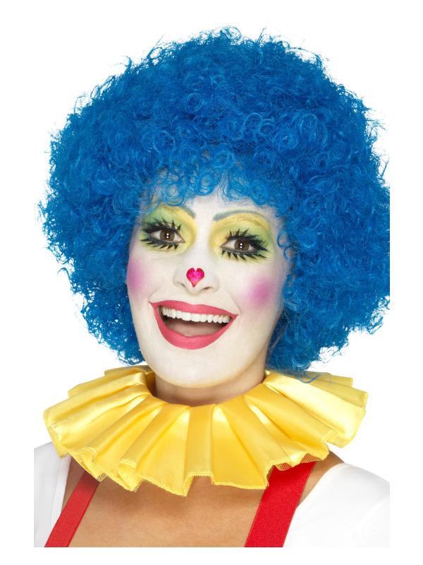 Clown Neck Ruffle, Yellow