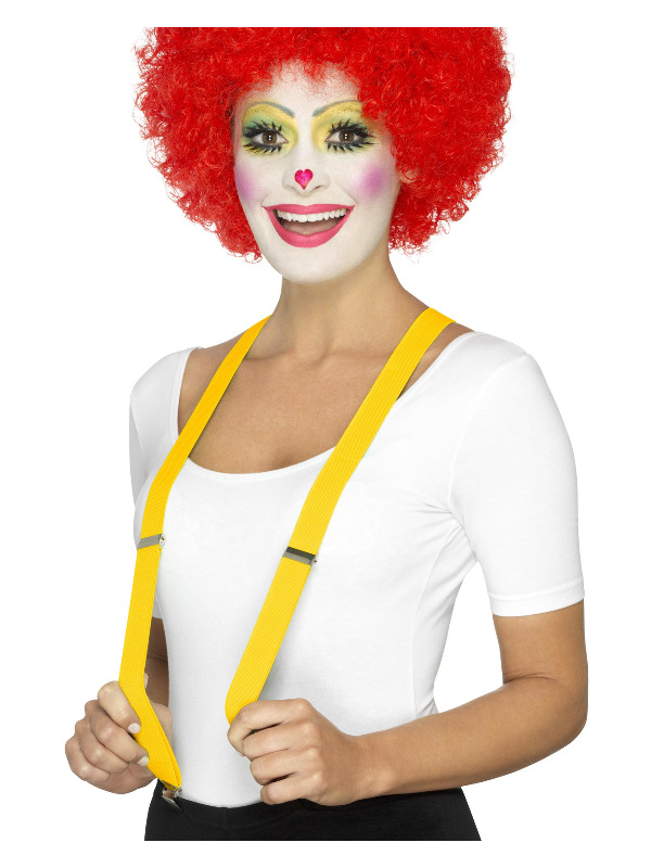 Clown Braces, Yellow