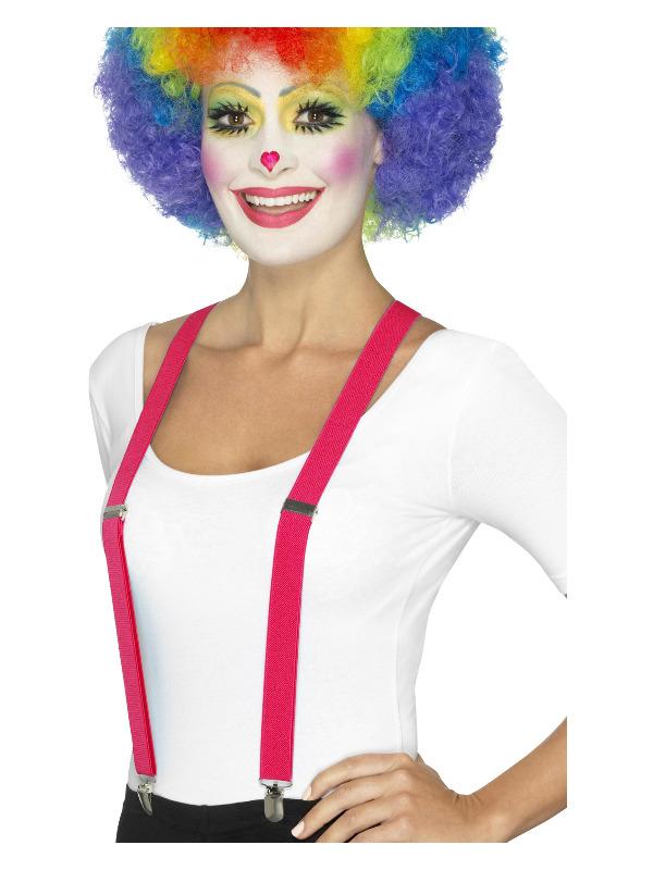 Clown Braces, Pink