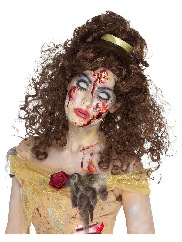 Zombie Golden Princess Wig, Brown