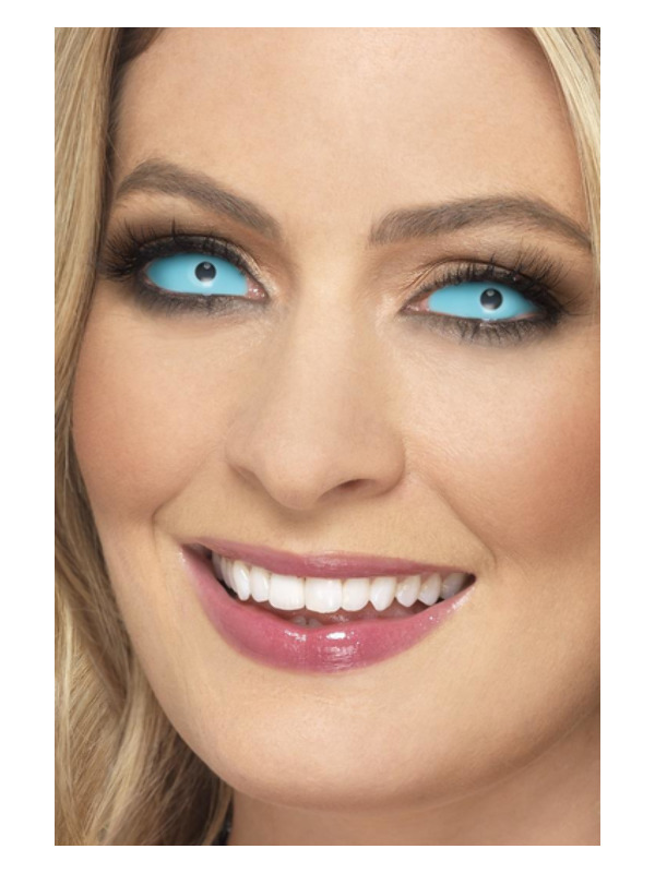 Accessoreyes Sclera Lenses, Blue, 6 Months Reusable, 22mm Diameter