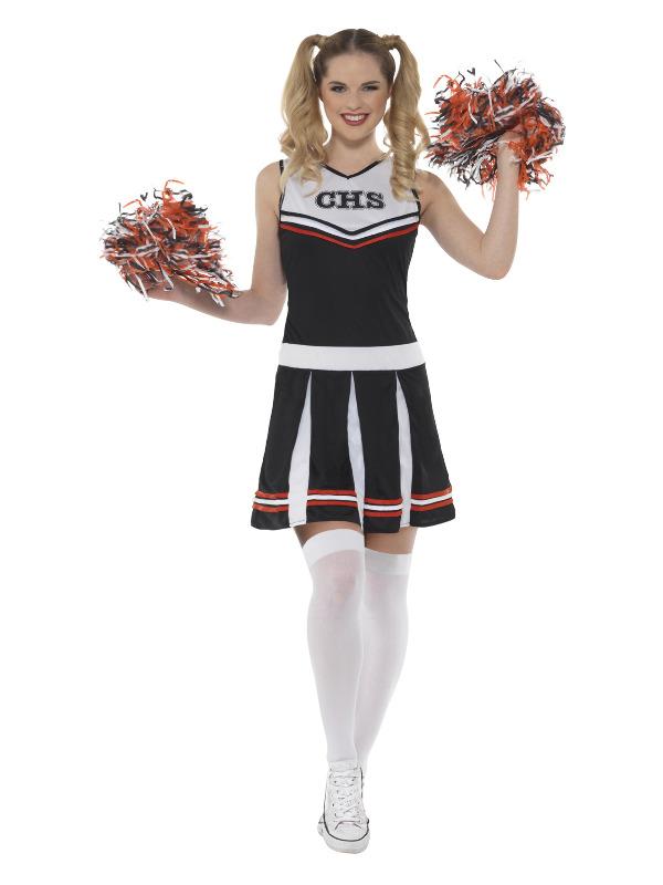 Cheerleader Costume, Black