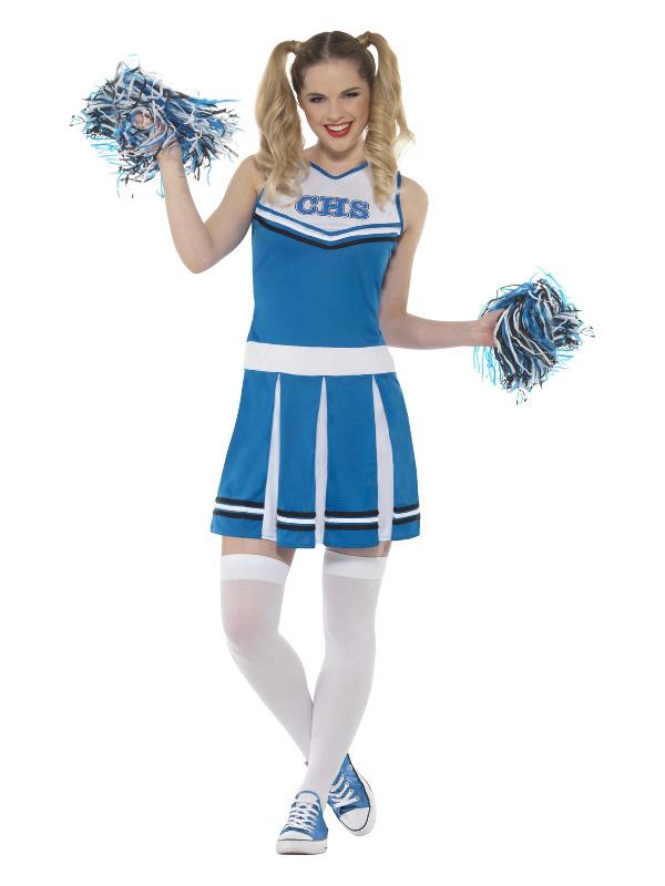 Cheerleader Costume, Blue