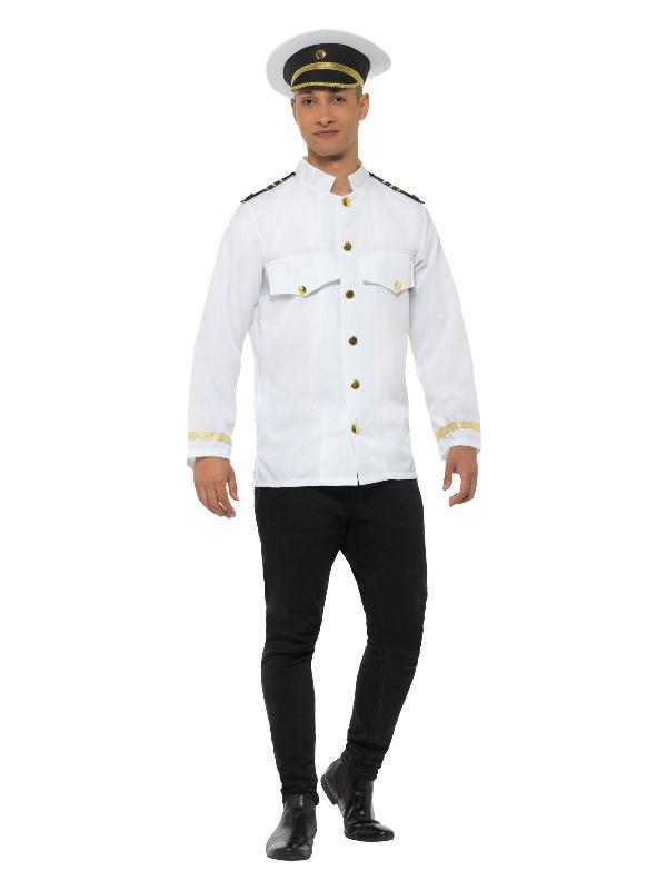 Captain Jacket, White