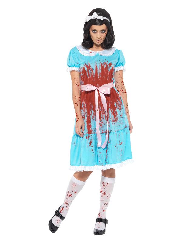 Bloody Murderous Twin Costume, Blue